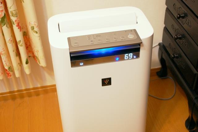 プラズマクラスター25000空気清浄機設置