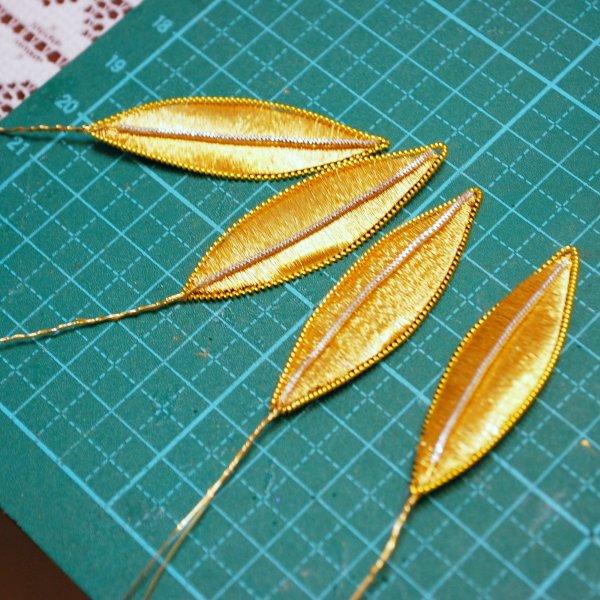 クロスターアルバイテンの葉のパーツ