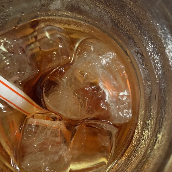 蔵カフェ 風音 氷がハート