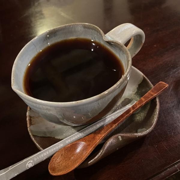 蔵カフェ 風音 コーヒーカップがハート